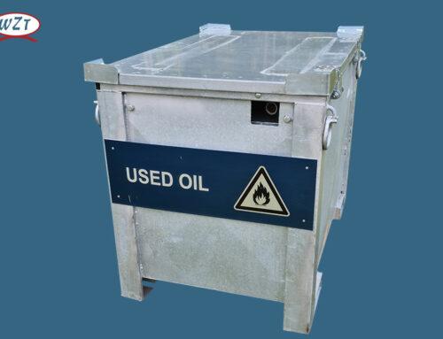 Sonderabfall-Behälter Öl